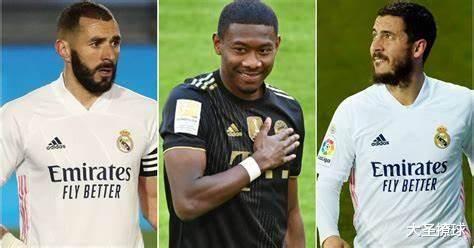 阿拉巴、拉莫斯和阿扎尔:20-21赛季皇马球员的周薪知多少?