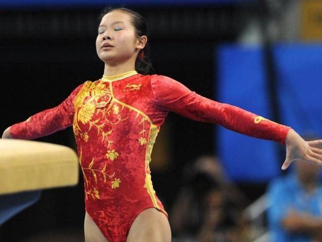 中国体操皇后,退役后身材发福无