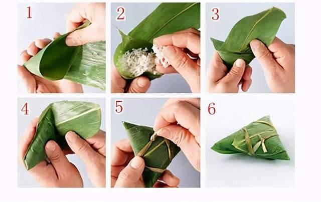 端午节快到了!教你几种包粽子的方法,圆的、扁的、四角的、锥形的  第2张