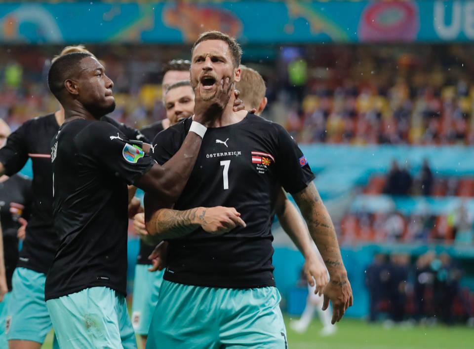 阿瑙破门创历史 成第2位在欧洲杯上进球的中超球员