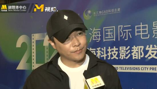 陈思诚亮相上海科技影都发布会 将拍唐探全新番外系列