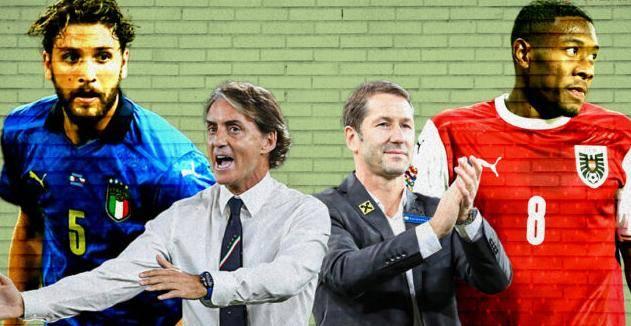 欧洲杯1/8决赛直播:意大利vs奥地利 意大利攻防两端硬实力突显!