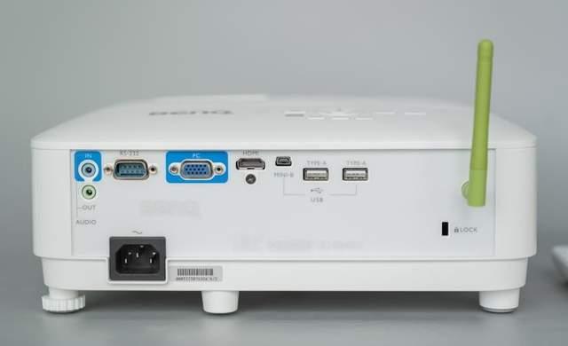 4000流明的明基E540智慧商務投影儀:強光環境也無所畏懼