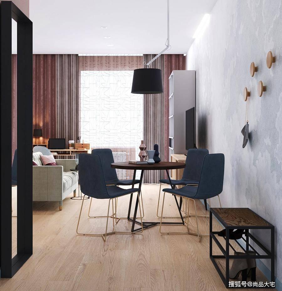 32岁单身女医生独居49㎡公寓 打破常规布局如何越住越舒适