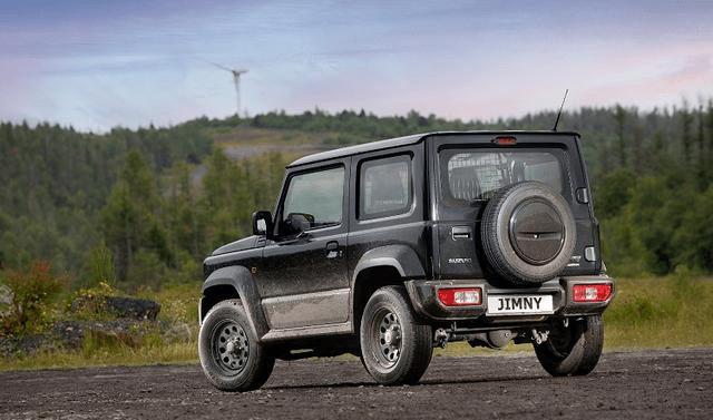 铃木吉姆尼双座商用版车型近期在英国市场展开部署