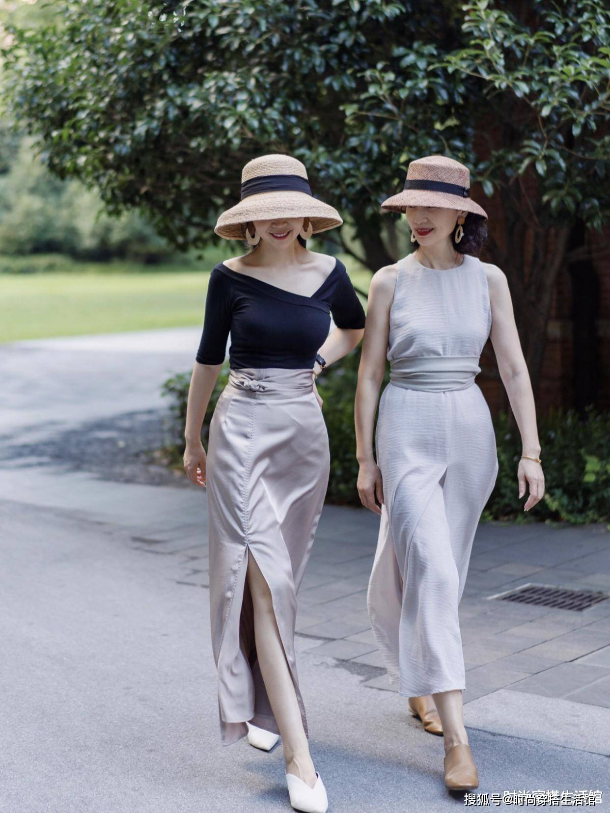 50岁女人穿衣可以穿紧身衣吗?50岁女人学三木这样穿优雅减龄又时髦