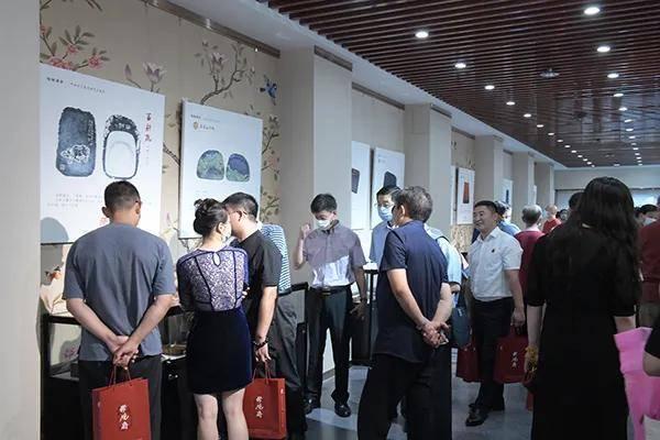 """庆祝建党100周年""""百年辉煌――砚台文化暨书画艺术展"""" 在北京华夏古玩城举行"""