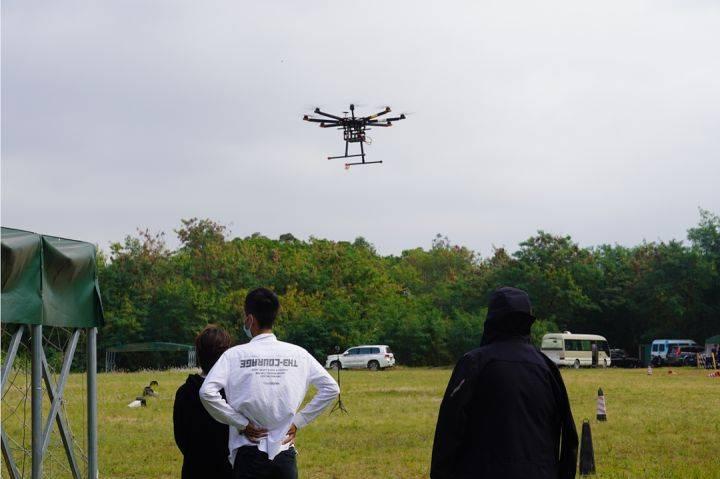 考试现场丨翼飞鸿天无人机本期实飞考试通过率100%