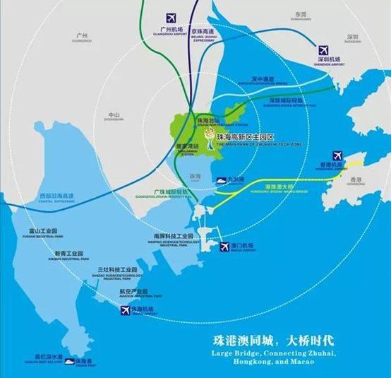 珠海高新区规划全解读,哪个片区