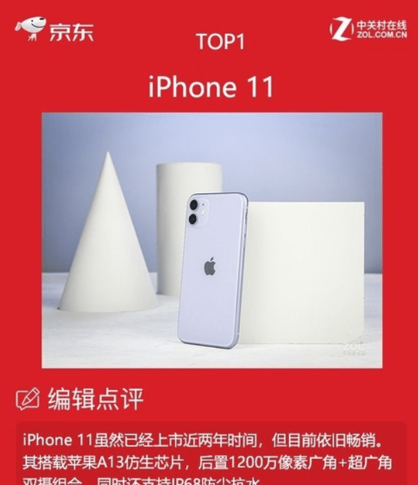 力压iPhone12,iPhone11再夺销冠,网友:4G华为P50肯定不愁卖