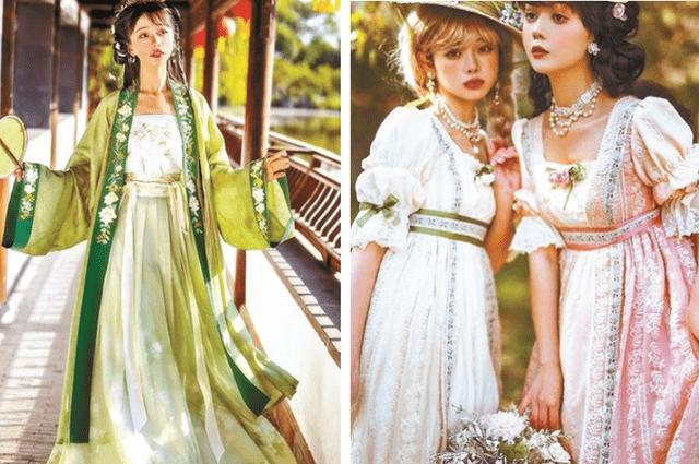 图片[1]-中国古风与洛丽塔的碰撞!顶级Lo娘谢安然实力演绎另类裙子,美如画-妖次元