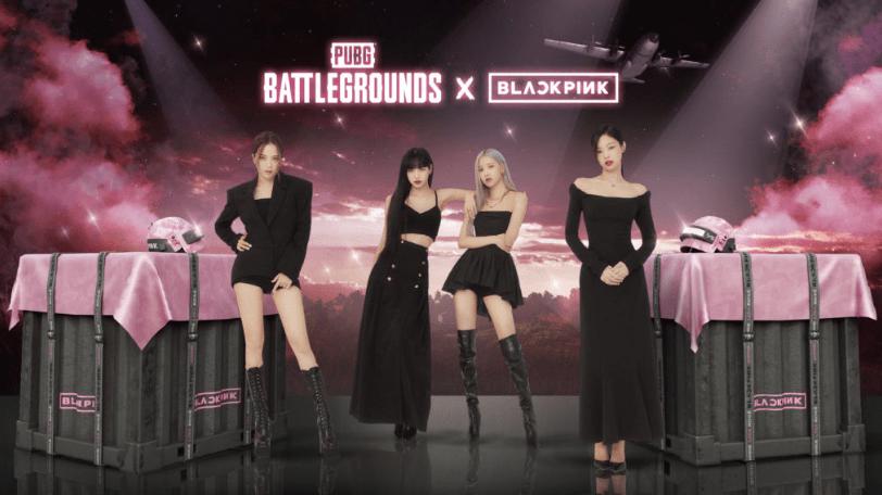 《绝地求生》和韩国女团Blackpink合作(即将开放大量时装道具)