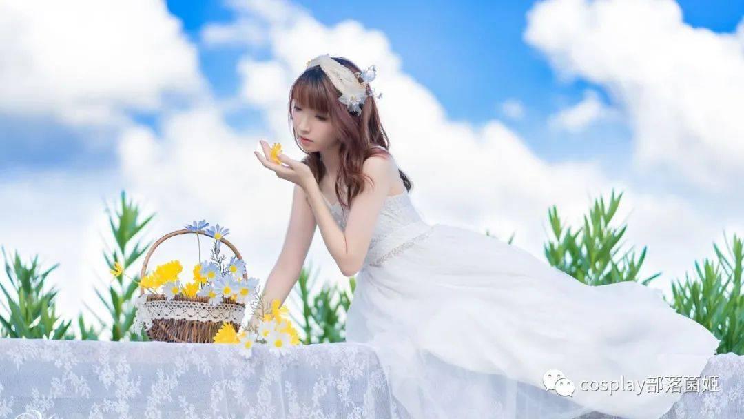 少女写真:一起来春游吧