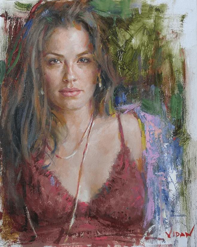 写实和写意相结合的人体油画,美得如此动人