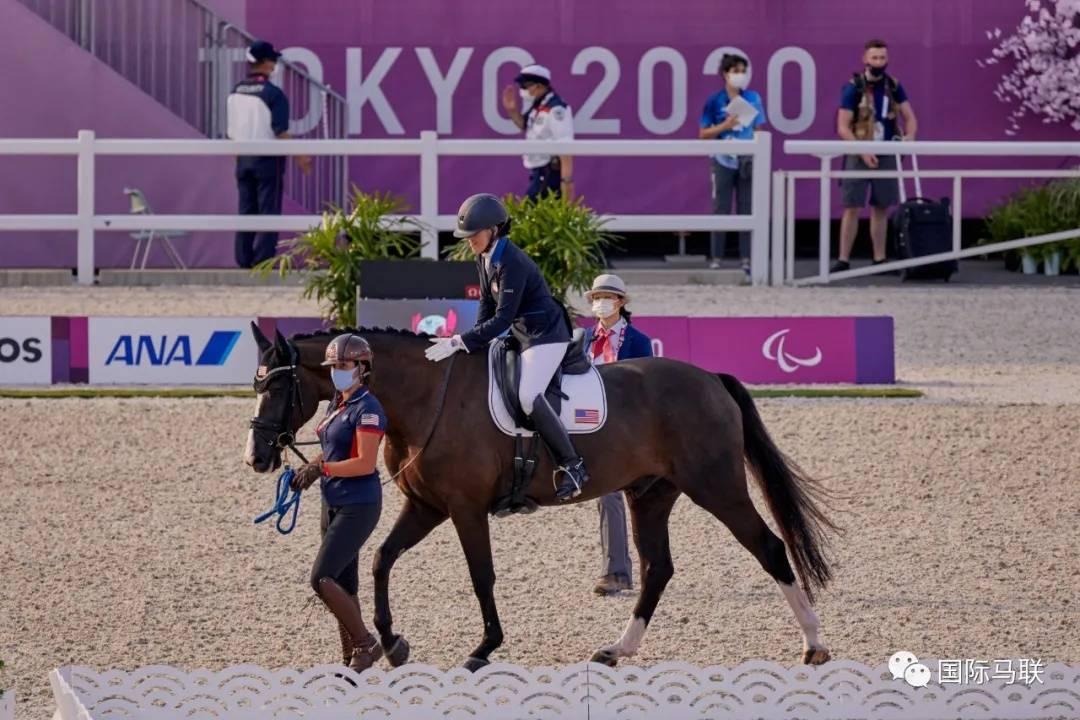 美国队实现残奥会马术金牌零的突破