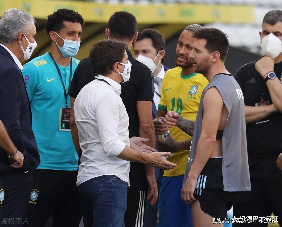 巴西和阿根廷世预赛十分钟结束!巴西队内练习赛满足观众看球愿望
