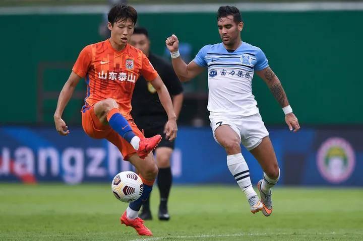 泰山外援孙准浩回到中国开始隔离 有望参加足协杯