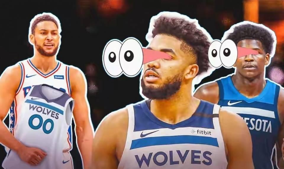 NBA新赛季还剩一个多月就开战,可西蒙斯的交易至今没有进展,