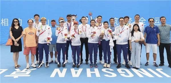 群众比赛网球项目广东队揽3金 整合社会资源办好群众体育
