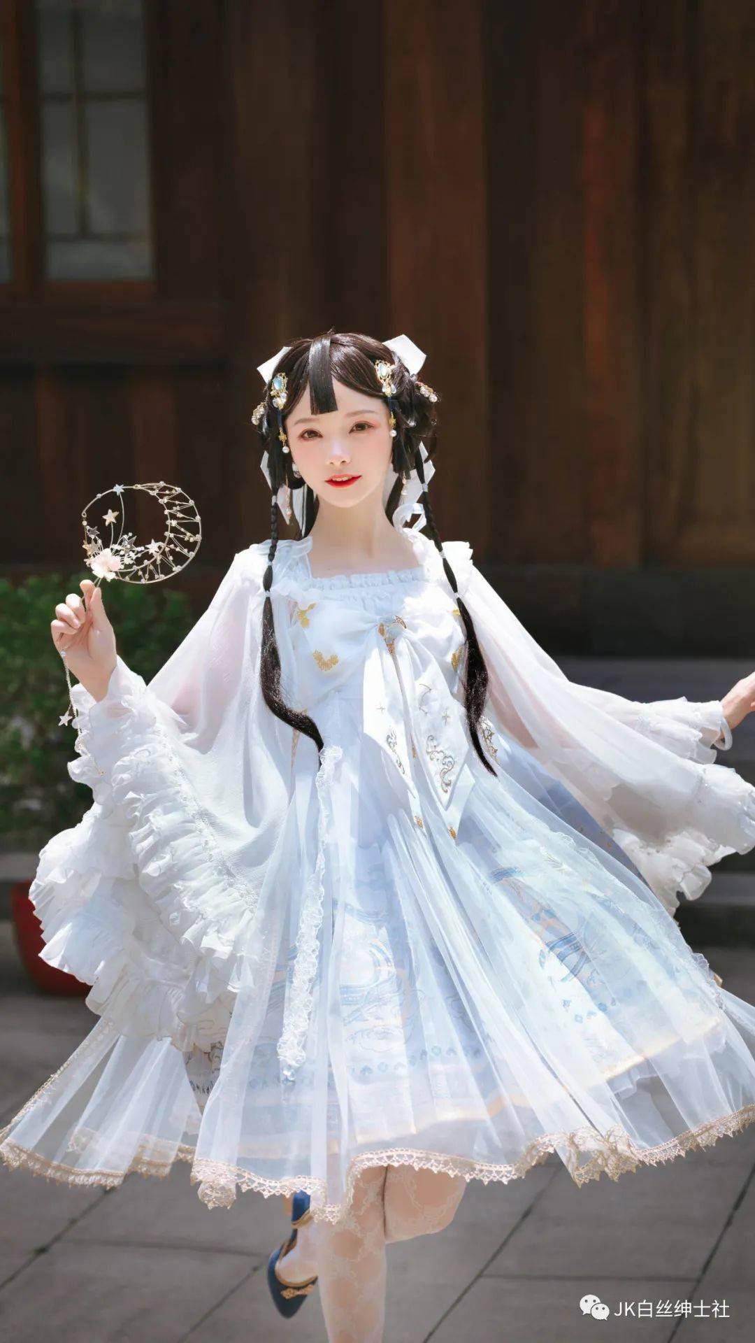Lolita:犹如月光般仙气满满