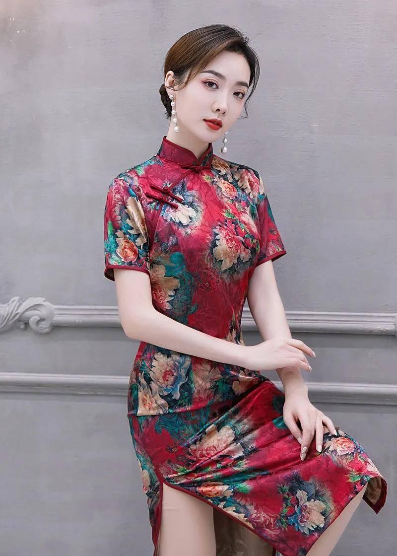 旗袍不是瘦就穿的好看,有这3个小缺点反而更惊艳,穿起来更好看