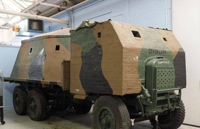 军车能用水泥制造?二战皇家陆军就是这么干的!