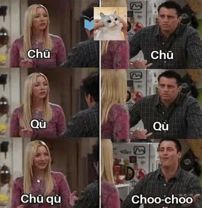 外国人吐槽学中文太难,像极了学英语的自己,网友:苍天饶过谁