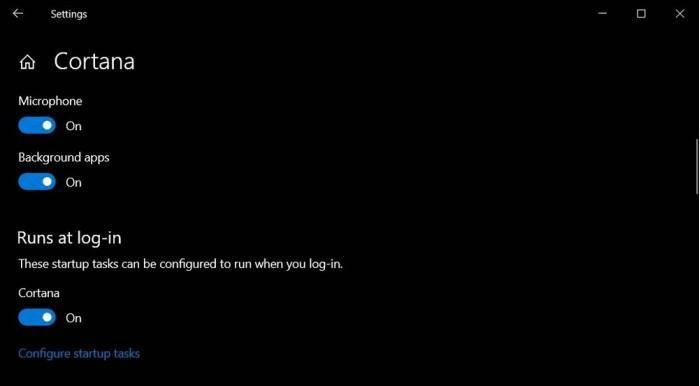 Win10 v2004如何移除Cortana开机启动项的照片 - 4