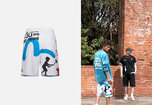 《【摩鑫平台代理怎么注册】携手伦敦涂鸦传奇,玩转新潮街头风 EVISU BRANDALISED 涂鸦系列正式发售》