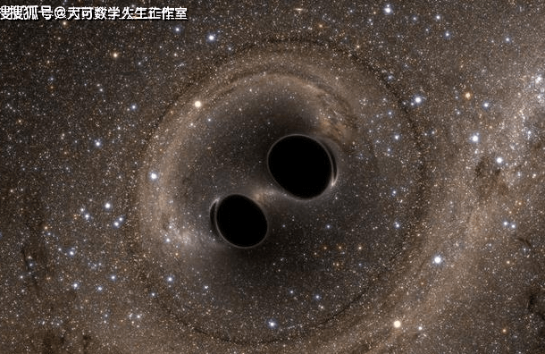 看两颗黑洞在苍穹间共舞,着实的壮观  第6张