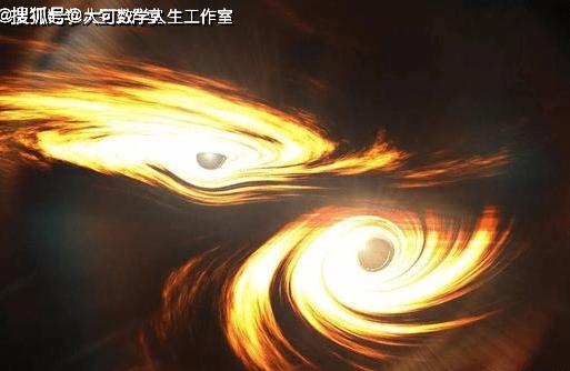 看两颗黑洞在苍穹间共舞,着实的壮观  第9张