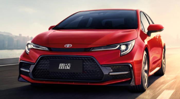 广丰4月销量73900台,雷凌等四款车月销过万,威兰达高性能版今晚上市