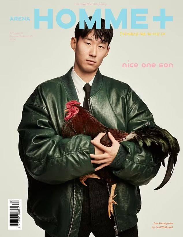 【亚博app英超买球的首选】孙兴慜登上驰名时髦杂志封面 成贝