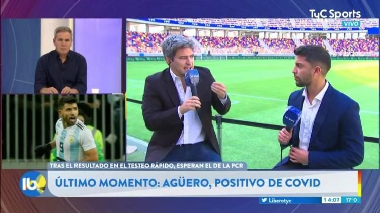 阿根廷媒体:阿圭罗新冠阳性 出战美洲杯揭幕战成疑