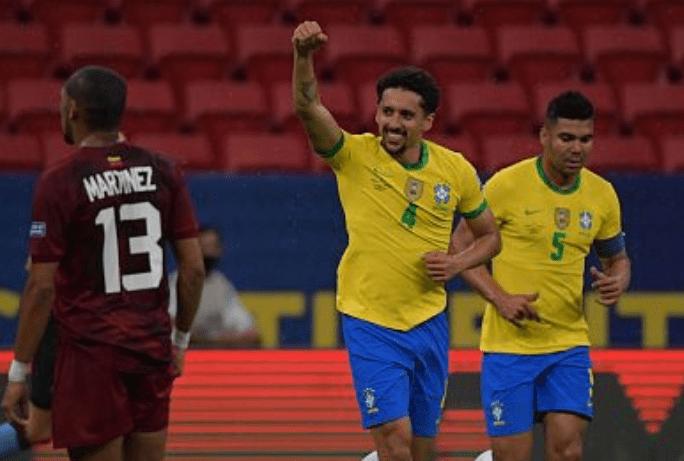 美洲杯-内马尔失良机巴黎上将立功 巴西半场1-0_KU游官网