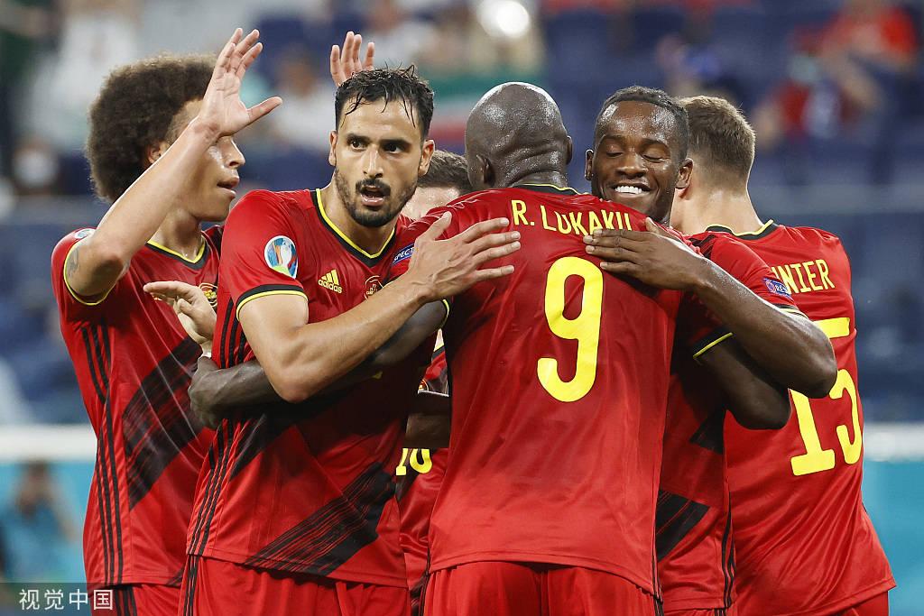卢卡库破门维尔马伦造乌龙 比利时2-0芬兰
