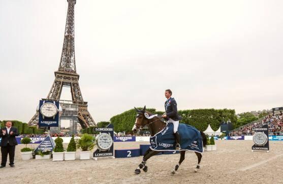 梅开二度!本·马赫博得全球马术冠军赛巴黎站1.60米大奖赛