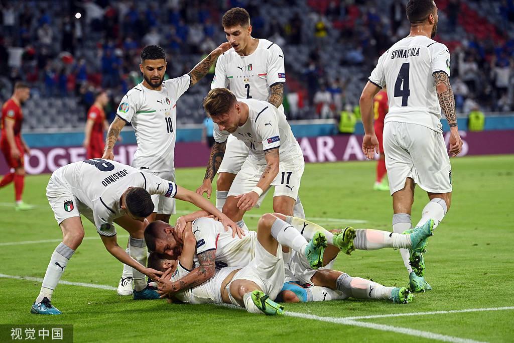数说:意大利15连胜压比利时 意甲球员进球破纪录