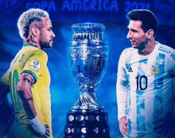 美洲杯决赛直播:巴西vs阿根廷 巅峰对决!内马尔和梅西的MVP之争!