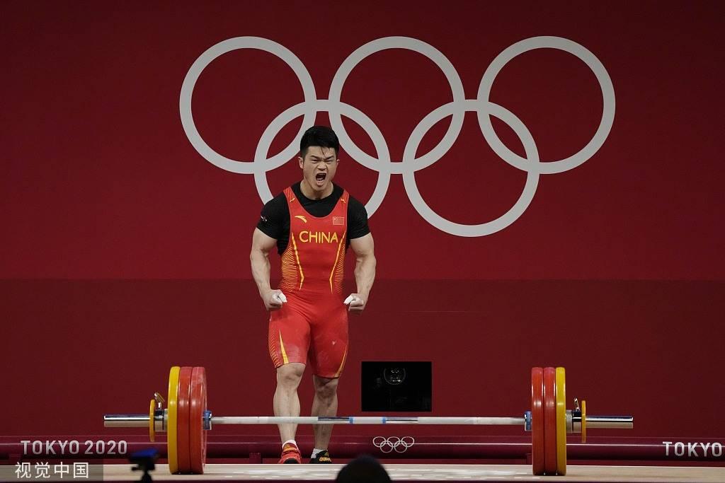 举重73公斤级石智勇破世界记录夺金委内瑞拉摘银ye4