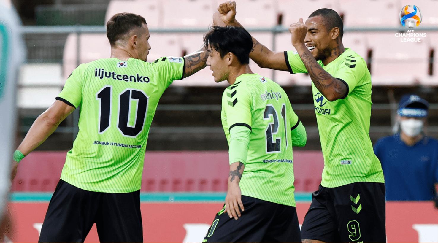 亚冠-全北点球大战险胜巴吞联 三支韩国球队进八强