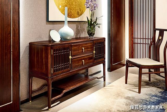 看新中式风格与窗帘搭配的办法