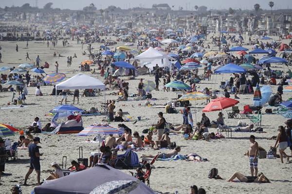 美国新冠疫情加速恶化:37州病例上升,佛州日增1万