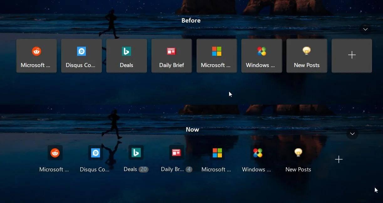 微软正在测试Edge新标签页上的快捷图标