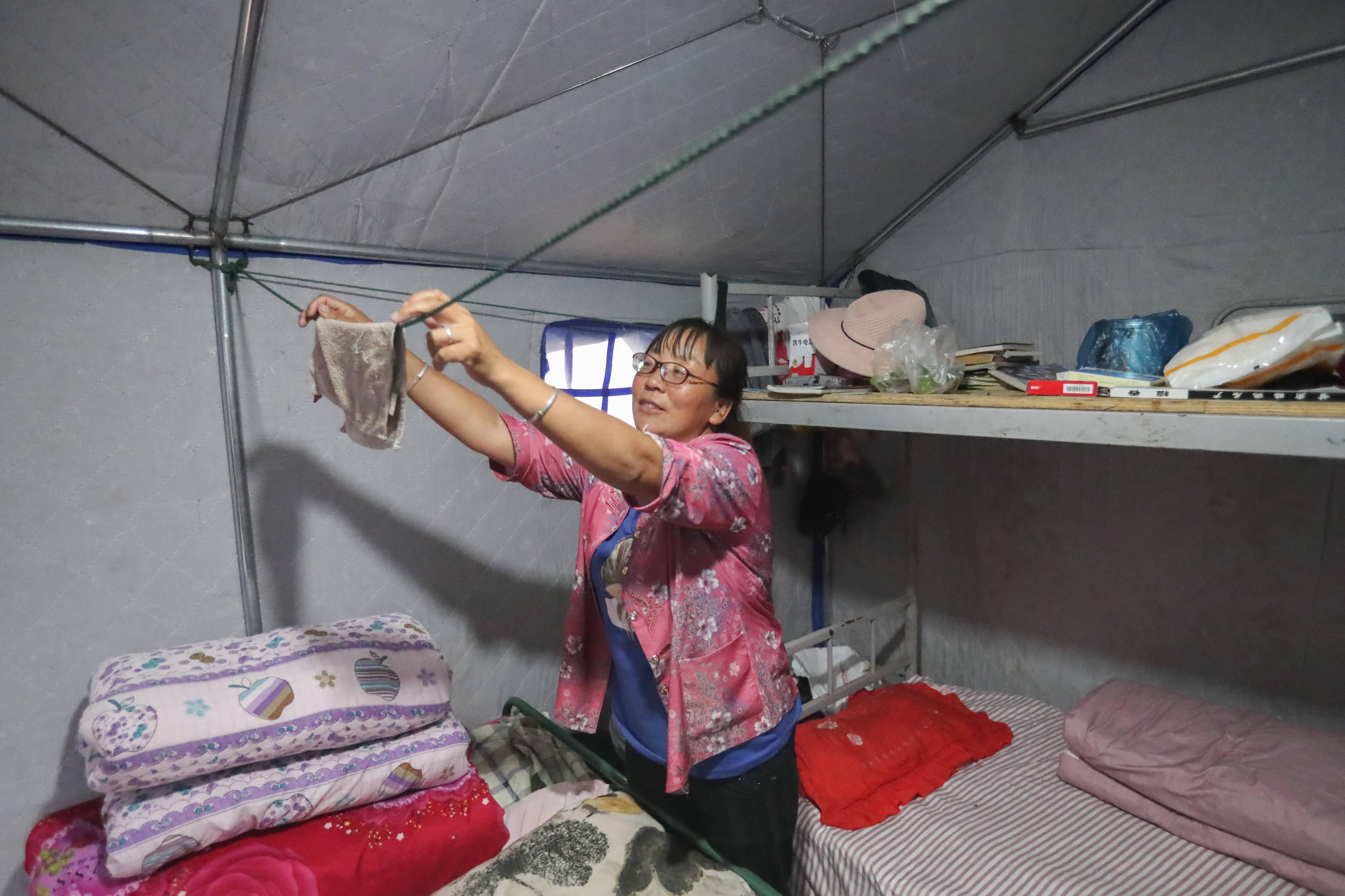 甘肃陇南:受灾群众灾后生活有保障