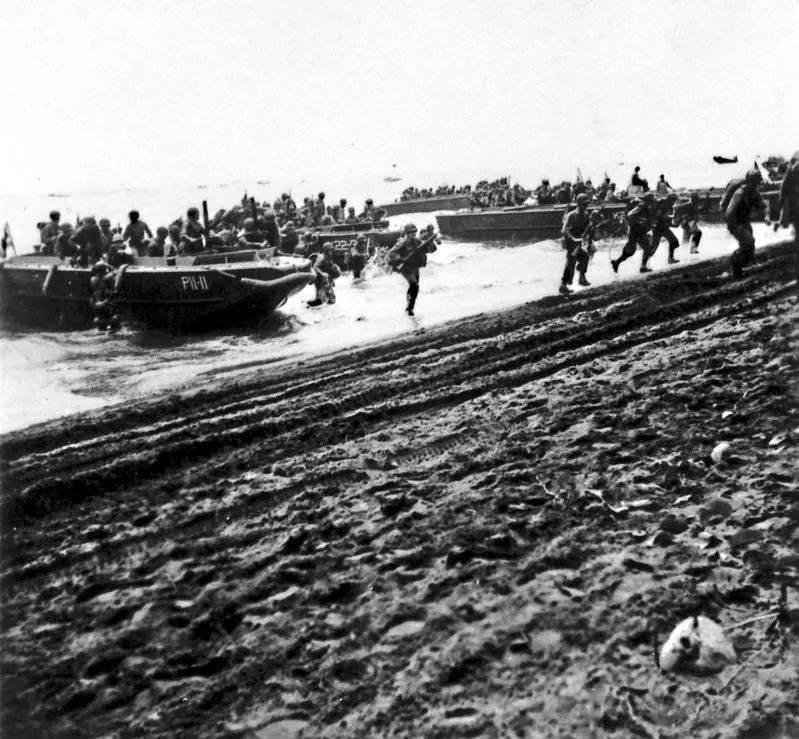 精选好图:瓜岛战役