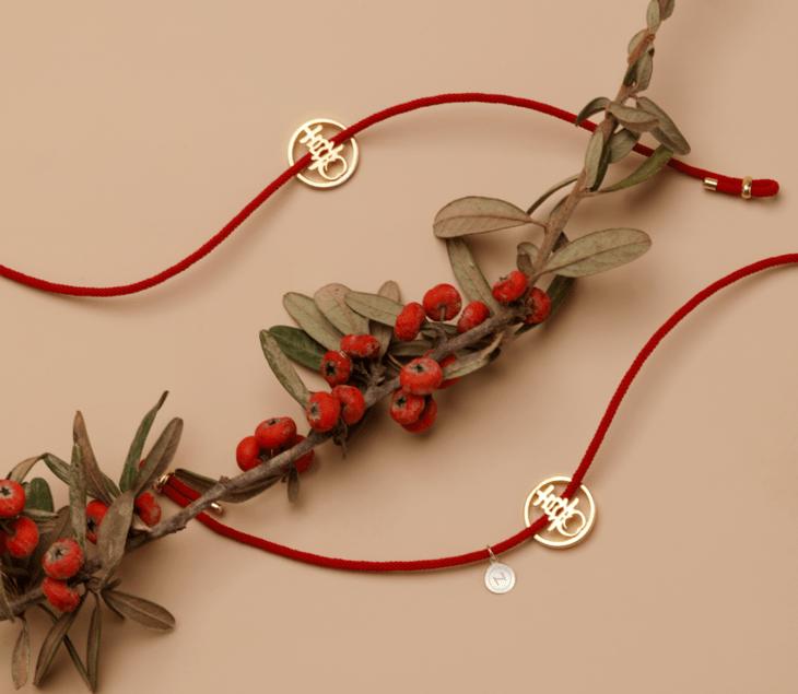 打开竟有喜鹊飞出来!这红绳礼盒太美了,新年戴上「喜柿」相随