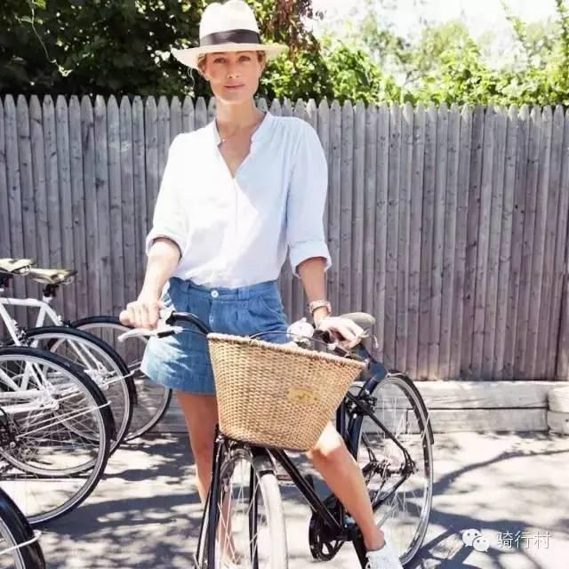 你骑单车的时候,也像她们这么美吗?