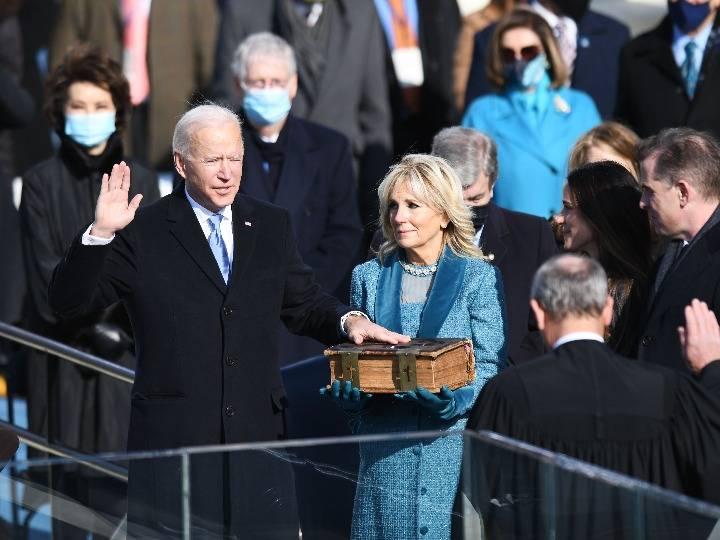 拜登就任美国总统