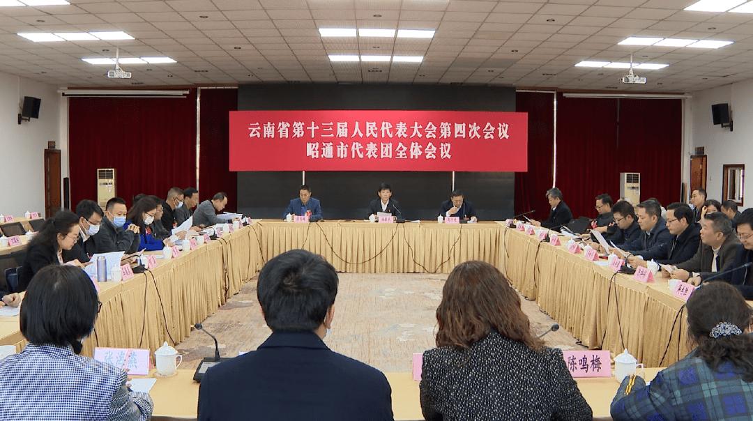 省十三届人大四次会议:昭通市代表团举行全体会议和临时党支部大会